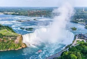 جاذبه های گردشگری - آبشار نیاگارا کانادا- پیشرو